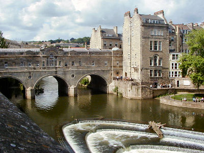 The river Avon at Bath