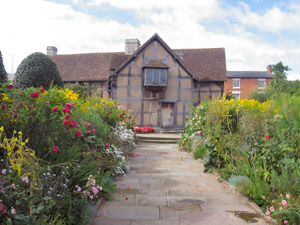 Shakespeare's birthplace Stratford on Avon