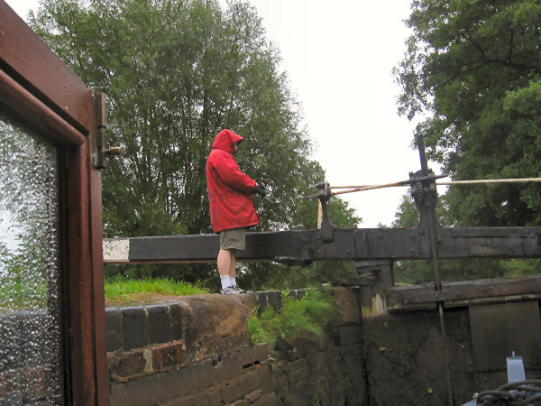 Wet day on the Stratford Canal