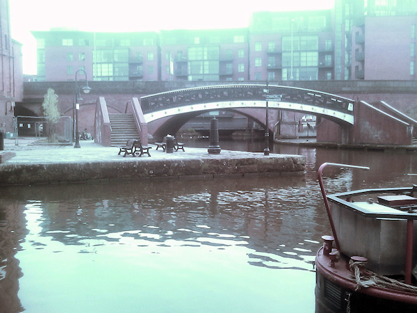 End of Castlefields Basin, Manchester