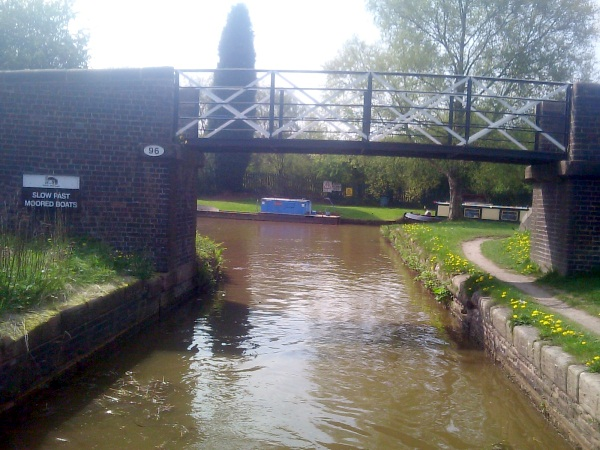 Bridge 96 at Junction of Tent and Mersey and Macclesfield canals