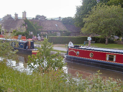 Sojourn outside George at Bathampton