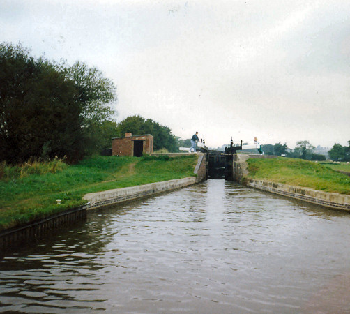 Locks at New Marton(?)