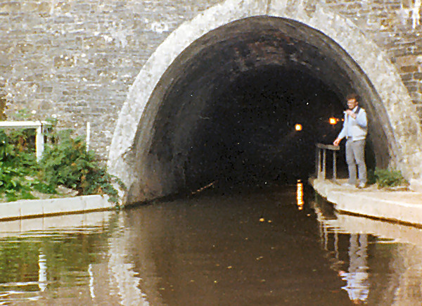 Entrance to Chirk Tunnel