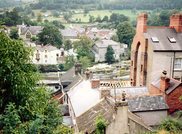 View over Llangollen