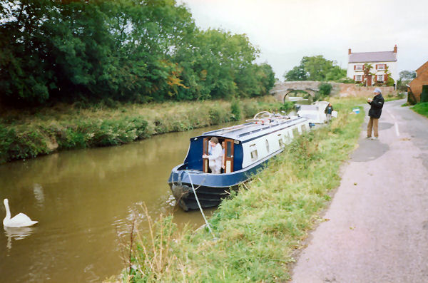 Mooring near Bridge 43(?)
