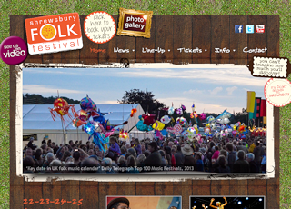 Thumbnail of Shrewsbury Folk Festival site