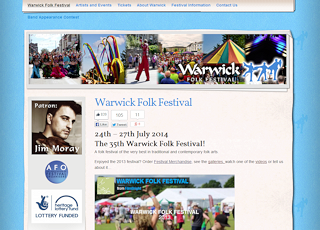 Thumbnail of Warwick Folk Festival site