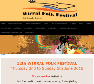 Thumbnail of Wirral Folk Festival site